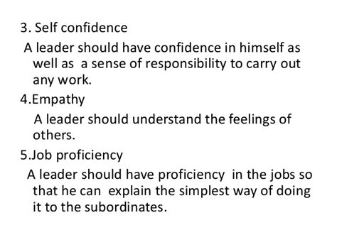 What Are The Qualities Of A Leader Essay by Essay On Leadership Qualities