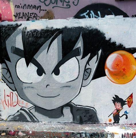 dragonball dbz graffiti graff streetart mural art