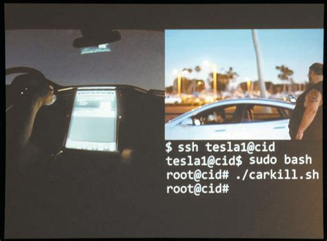 Tesla Hacked Def Con 23 Researchers Hack Tesla S The Company Patches