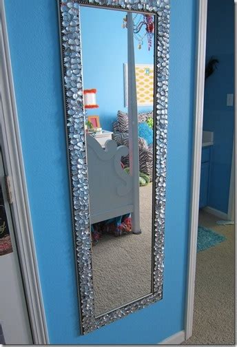 bling bathroom mirrors bling mirror my sister and i made for her dorm room bling