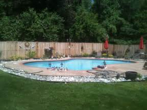 Around Pool Landscape Ideas Around Pool Home Decorating Ideas And Tips