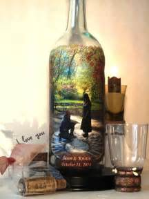 Recycled wine bottle decorations for your wedding weddbook