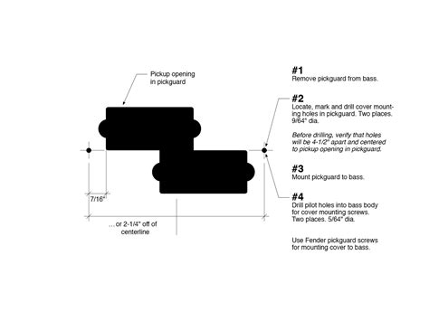 P Bass Template printable template for a p bass cover talkbass