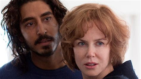 lion film budget nicole kidman related to dev patel as a mother while