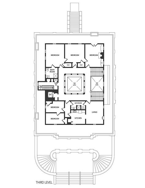 washington st san francisco ca  level architectural floor plans luxury house
