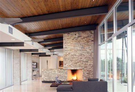 como decorar  techos de madera