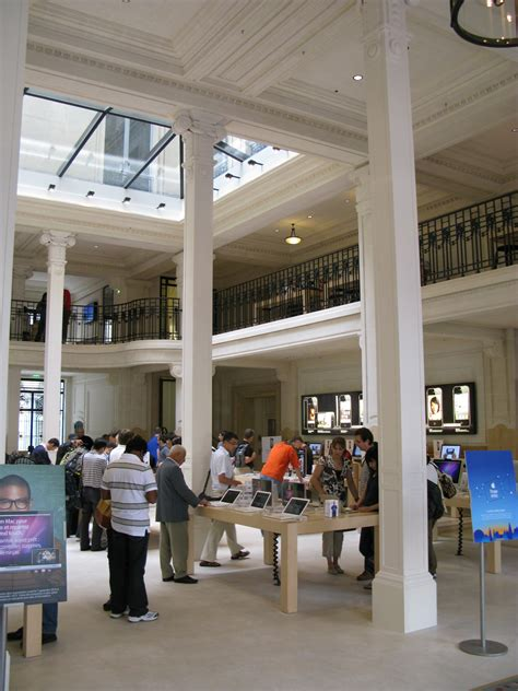 paris apple store paris apple store interior by adrian f1 via flickr