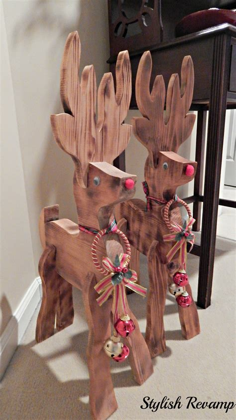 alcove santa with reindeer home tour stylish rev