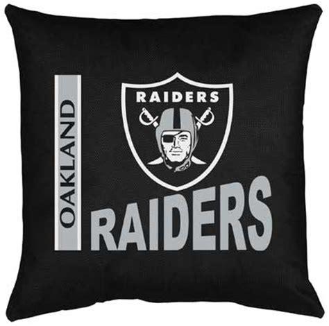 raiders locker room oakland raiders locker room toss pillow
