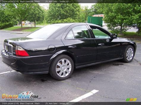 Black Ls by 2004 Lincoln Ls V8 Black Clearcoat Black Photo 6