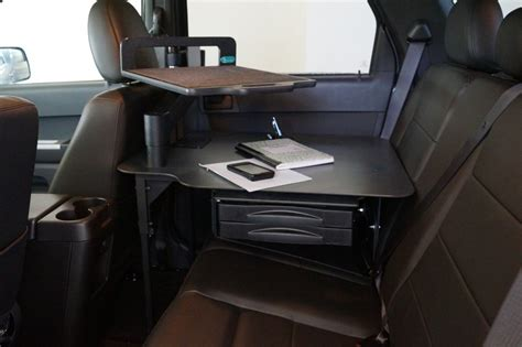 Mobile Office Car Desk Workstations Mobile Office Car Desk Workstations Mobile Office Workstation Systems For Fleet Vehicles