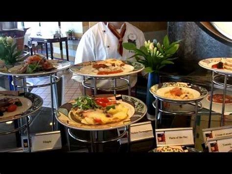 palo brunch on the disney wonder cruise ship. private tour