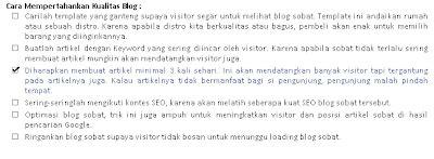 membuat bullet pada html cara membuat tanda ceklis pada bullet list diblog pandu