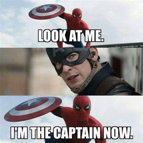 Captain America Meme - cthutube the best captain america civil war spider man
