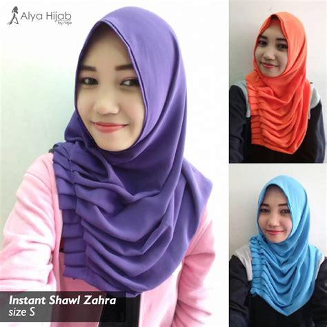 Cantik Kerudung Instant Shawl kakak kakak cantik yang memakai instant shawl zahra