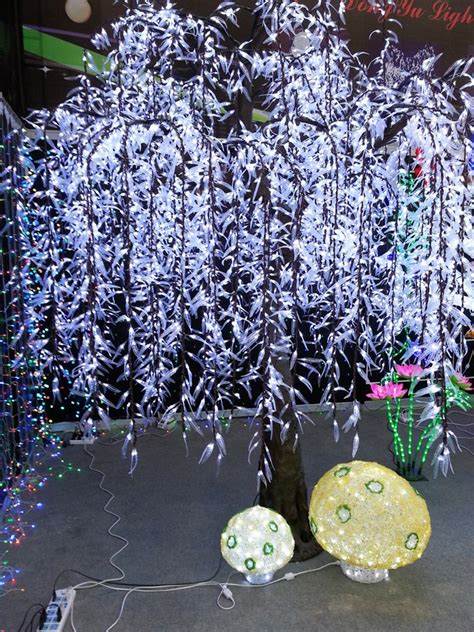 light balls to hang in trees outdoor hanging lights cold white led weeping willow tree buy led weeping willow tree led