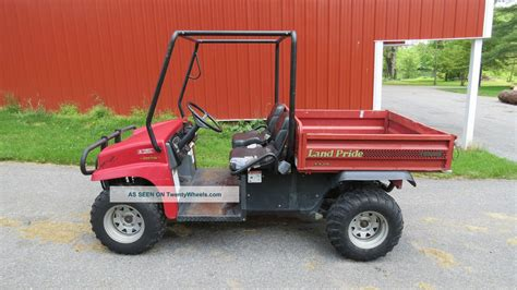 honda utility vehicle 2007 land pride treker 4410 4x4 utility vehicle side by