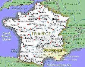 Map Of Provence France by Info France Map Provence Travel