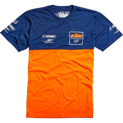 T Shirt 00977 Ktm Fox Dungey dirt bike fox racing ktm replica t shirt motosport