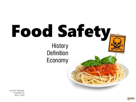 Home Economics Food Design Challenge by Food Safety History Economic Impact
