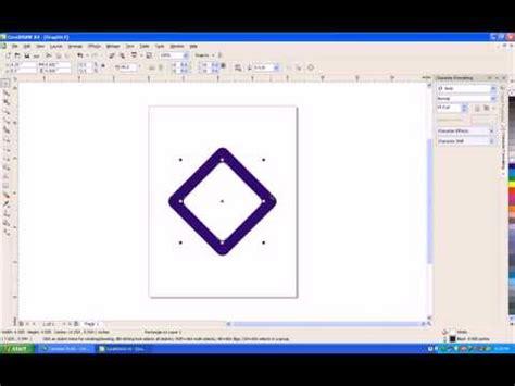 tutorial logo trans tv corel draw tutorial bikin logo trans tv dengan corel draw x4 youtube
