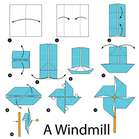 making origami windmill step by step instructions how to make origami a windmill