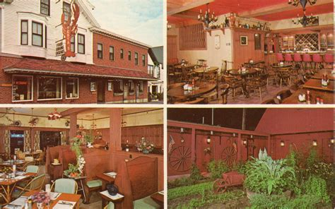 testa s hotel and restaurant bar harbor postcards maine