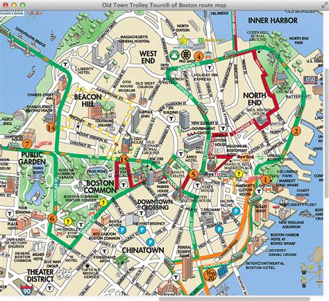 tourist map of boston usa maps update 21051488 boston map tourist boston