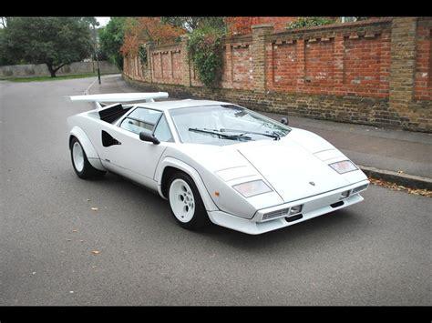 classic lamborghini countach 1984 lamborghini countach 5000 s for sale classic cars