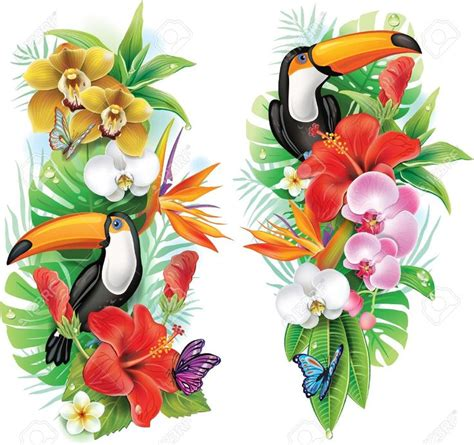 Les 25 meilleures idées concernant Fleur Tropicale Tatouages sur Pinterest Fleurs hawaïennes
