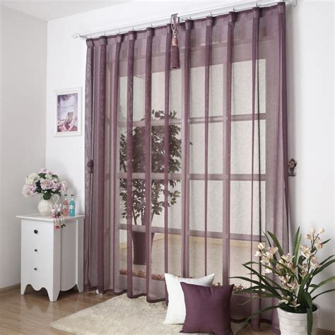 unique and simple sheer curtains design for home windows