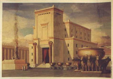 Jewish temple diagram