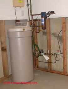 water softener plumbing supply drain