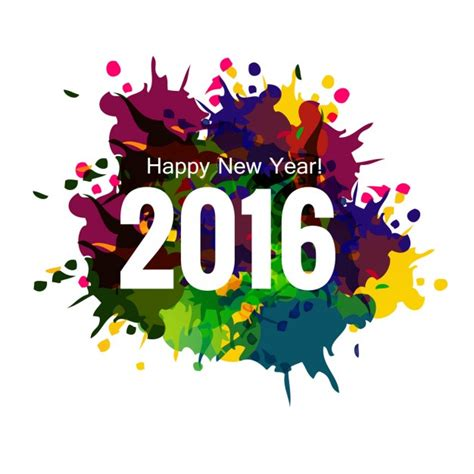 new year 2016 cards australia colorful new year 2016 greeting card vector free