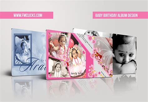 birthday album layout design baby birthday album design on behance
