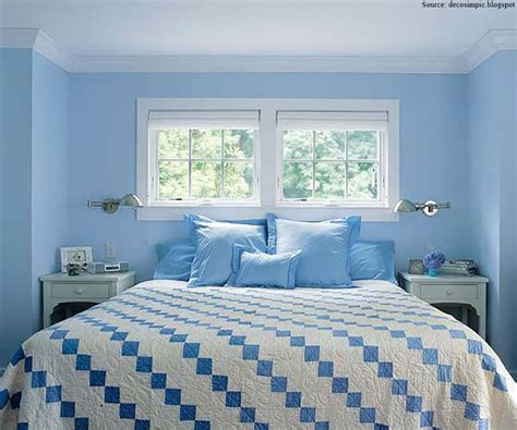 blue bedroom schemes light blue wall paint colors keeping light in mind when