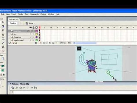 how to make a clicker for flatutorial how to make a point and click with actionscript 2 0