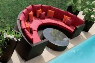 outdoor patio furniture set rattan sofa