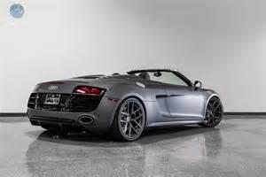 Audi R8 Grey Audi R8 Spyder Grey 2017 Ototrends Net