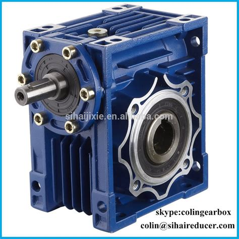 motor reduction gearbox nmrv030 speed reducer gear motor reduction gearbox buy