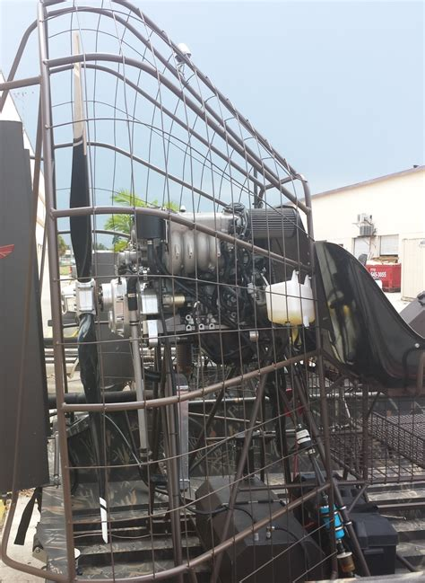airboat cooling system airboat engines