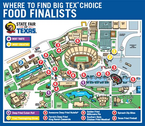 state fair of texas map texas state fair map adriftskateshop