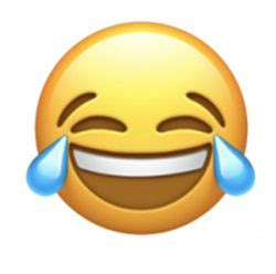 apple  face  tears  joy   popular emoji