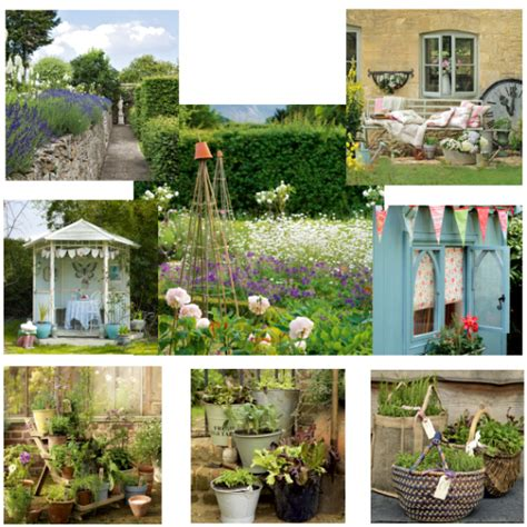 shabby chic cottage garden moodboards housetohome co uk