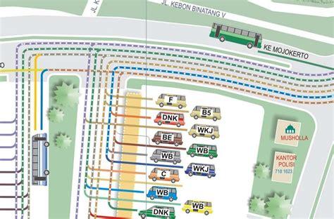 Peta Angkot Surabaya 2 Klp peta kota surabaya rute angkutan kota terminal