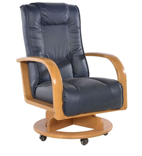 japanese chair revolving in brown colour by penache