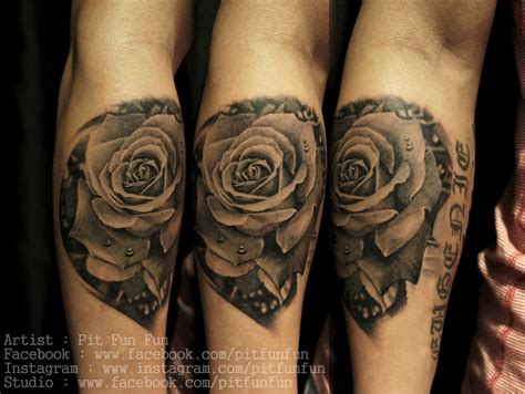 rose tattoo artist pit tattoos certified artist