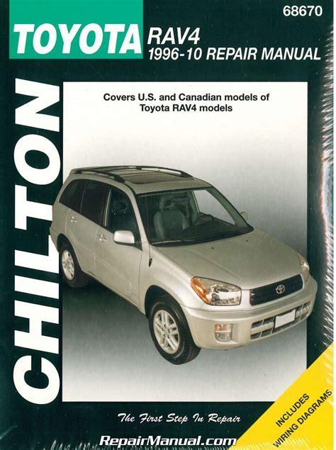 manual repair autos 2006 toyota rav4 regenerative braking chilton toyota rav4 1996 2010 repair manual