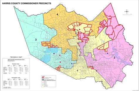 harris county texas precinct map new boundaries in harris county houston media
