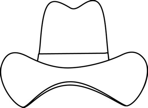 western hat coloring page best 25 cowboy hat drawing ideas only on pinterest